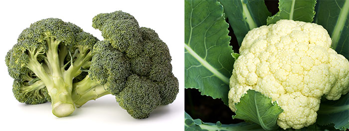 broccoli and califlower