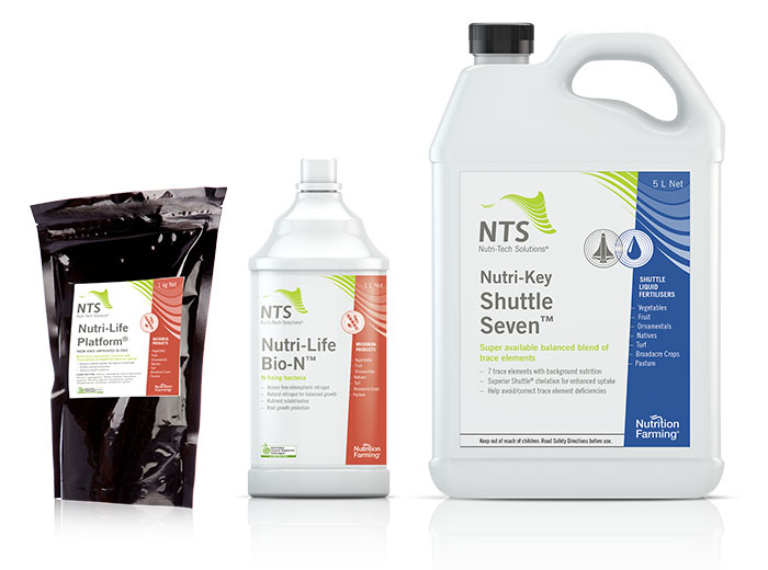 NTS microbial fertilisers
